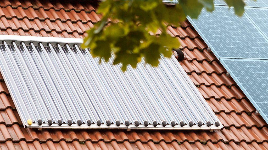 Oelheizung in Verbindung mit Solarthermie
